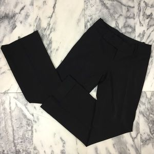 Banana Republic Martin Fit Black Pants, Stretch, 2
